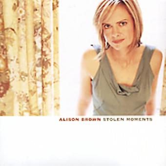 Alison Brown - stulna stunder [CD] USA import