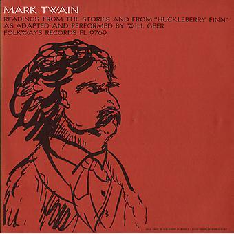 Will Geer - Mark Twain: Lectures de l'histoire et de Huckl [CD] USA import