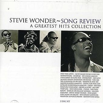 Stevie Wonder - sang Review-Greatest Hits CD] USA import
