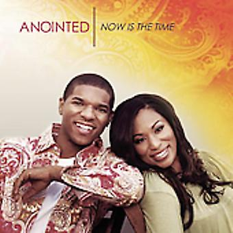 Anointed - Now Is the Time [CD] USA import