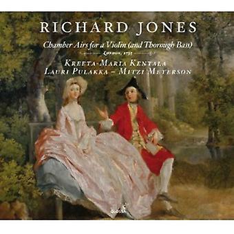 Richard Jones - Richard Jones: Kammer Airs for en Violin (og tilbundsgående bas) [CD] USA import