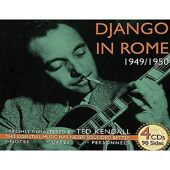 Django Reinhardt - Django in Rome 1949-50 [CD] USA import