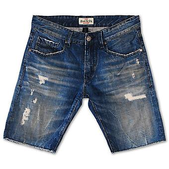Rivet De Cru Crown Blue Denim Shorts