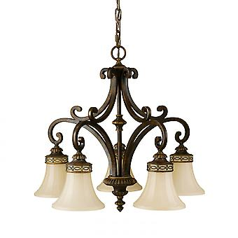 Feiss Drawing Room 5lt Chandelier