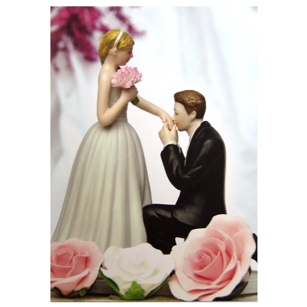 The Art Group Prince Charming Wedding Toppers Card