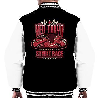Neo Tokyo Street Racing Champion Akira Men's Varsity Jacket