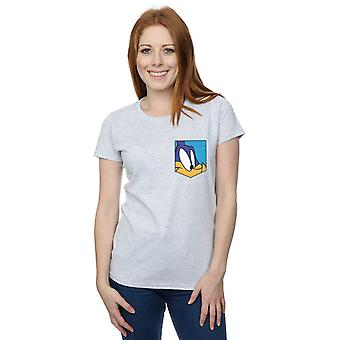 Looney Tunes Women's Roadrunner Face Faux Pocket T-Shirt