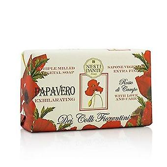 Dei Colli Fiorentini Triple Milled Vegetal Soap - Poppy - 250g/8.8oz