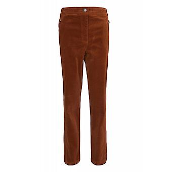 B.C.. best connections by heine pants women's corduroy pants short size Brown