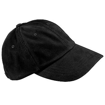 Beechfield Unisex Low Profile Heavy Brushed Cotton Baseball Cap