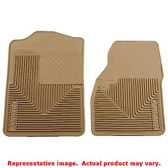Tan Husky Liners # 51043 Heavy Duty Floor Mats   FITS:CHEVROLET 1987 - 1991 BLA