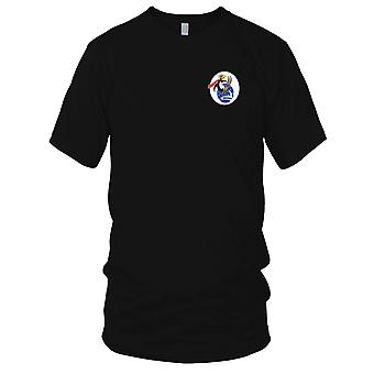 US Navy Naval Air Station Minneapolis Minnesota Embroidered Patch - Mens T Shirt
