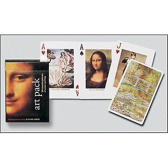 Art Pack set of playing cards + jokers    (gib)
