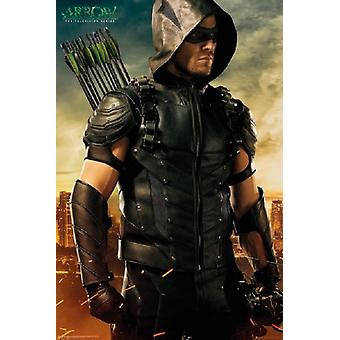 Arrow - the Television series Poster Poster Print