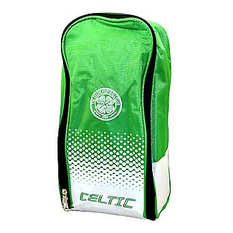 Celtic FC Official Fade Football Crest Design Shoe Bag