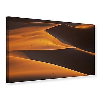 Lærred Udskriv Desert Sand