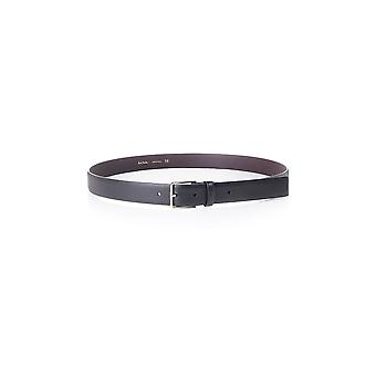 Paul Smith Accessories Mens Striped Leather Belt