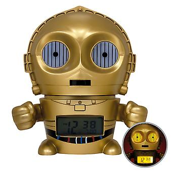 BulbBotz Star Wars C-3PO Night Light Alarm Clock (5.5 inch)