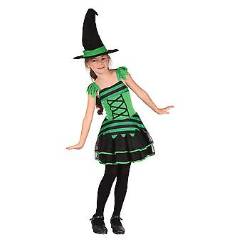 Witch. Green/Black (S)
