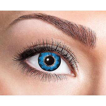 Natural contact lens with playful ornaments