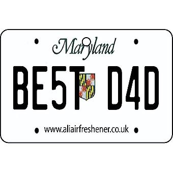Maryland - mejor papá placa ambientador