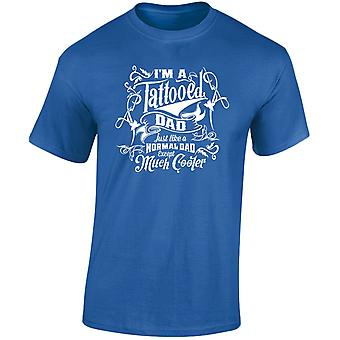 I'm a Tattooed Dad Except Much Cooler Mens T-Shirt 10 Colours (S-3XL) by swagwear