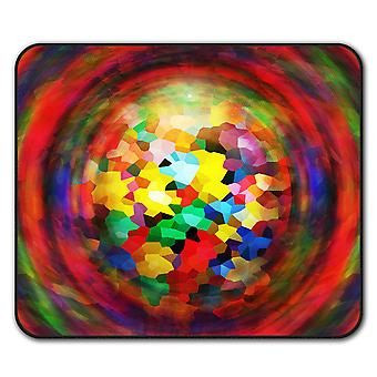 Colors Ornament  Non-Slip Mouse Mat Pad 24cm x 20cm | Wellcoda