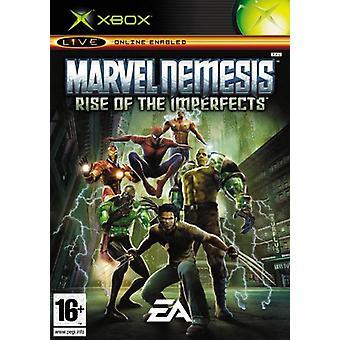 Marvel Nemesis opkomst van de Imperfects (Xbox)