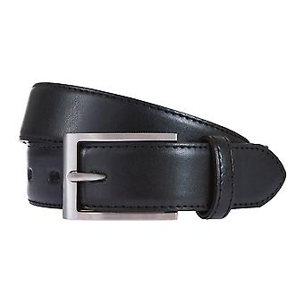 LLOYD Men's Belts Gürtel Herrengürtel Ledergürtel Schwarz 175