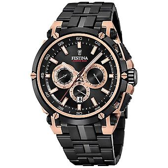 Festina Mens Chronobike 2017 Special Edition Iron Plated Rose Gold F20329/1 Watch