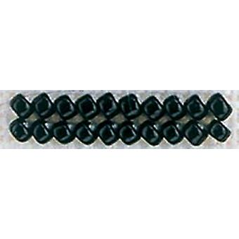 Mill Hill Glass Seed Beads Economy Pack 2.5mm 9.08g-Black