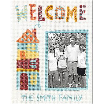 Cathy Heck Welcome Home geteld Cross Stitch Kit-8