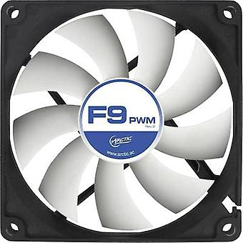 Arctic F9 PWM Rev. 2.0 PC fan Black, White (W x H x D) 92 x 92 x 25 mm
