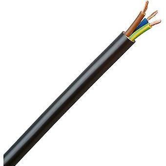 Kopp 153705007 Flexible cable H05VV5-F 3 G 1.50 mm² Black 5 m