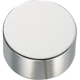 Permanent magnet Circular N35M 1.24 T Temperature limit (max.):