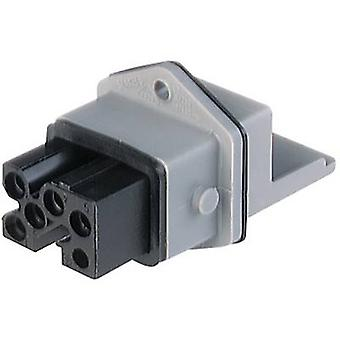 Mains connector STAKEI Series (mains connectors) STAKEI Socket, vertical vertical Total number of pins: 5 + PE 16 A Grey Hirschmann STAKEI 5 1 pc(s)