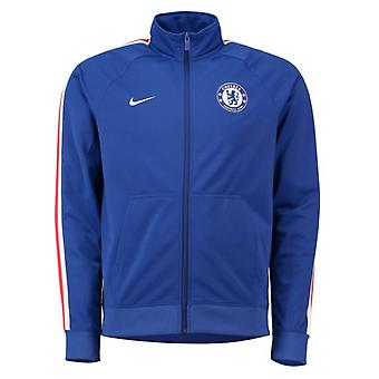 2018-2019 Chelsea Nike Core Trainer Jacket (Blue)