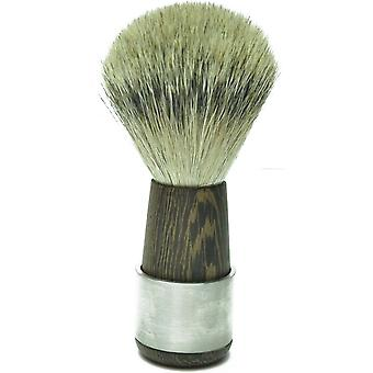 Shaving brushes combined with Badger silver tip Wenge wood with stainless steel