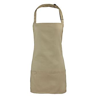 Premier Colours Unisex 2 in 1 Workwear Pocket Apron