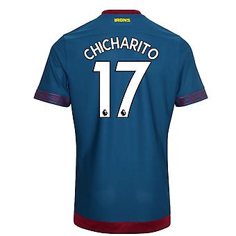 2018-2019 West Ham Away Football Shirt (Chicharito 17)