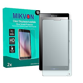 Sony Odin Gina Screen Protector - Mikvon Clear (Retail Package with accessories)