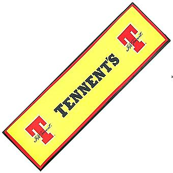 Tennent's large bar wetstop runner (yellow) 900mm x 240mm  (pp)