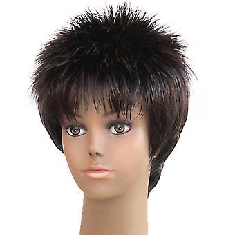 أزياء المرأة قصيرة مستقيمة 3324 ه المهنية شعر مستعار