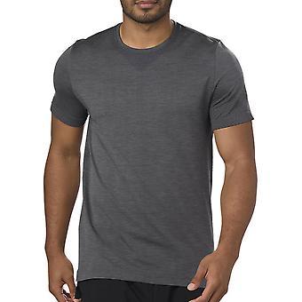 Asics bezproblemowe uruchamianie krótkim rękawem T-Shirt