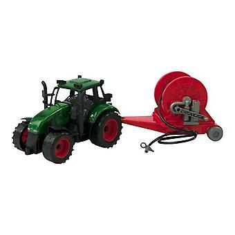 Tractor frictie met haspelaanhanger 37cm