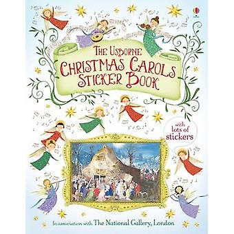 Christmas Carols Sticker Book (New edition) by Jane Chisholm - Marie-