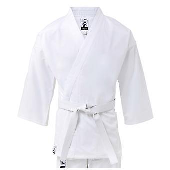 Bambini bytomic 100% cotone studente Karate bianco uniforme