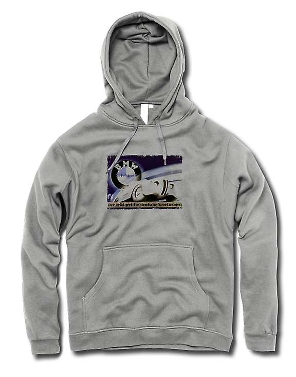 Mens Hoodie - Doppeldeckzuge German Train