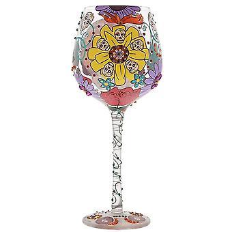 Lolita Superbling Sugar Skulls Extra Large Wine Glass