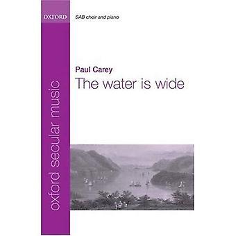 Das Wasser ist breit: Klavierauszug